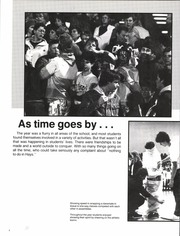 Page 8, 1987 Edition, Hays High School - Indian Call Yearbook (Hays, KS) online yearbook collection