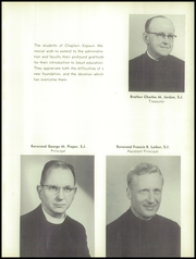 Page 13, 1957 Edition, Chaplain Kapaun Memorial High School - Crusader Yearbook (Wichita, KS) online yearbook collection
