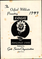 Page 5, 1949 Edition, Oxford High School - Oxford Wildcats Yearbook (Oxford, KS) online yearbook collection