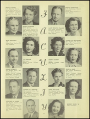 Page 9, 1947 Edition, Washington High School - Hatchet Yearbook (Kansas City, KS) online yearbook collection