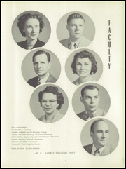 Page 11, 1952 Edition, Washington High School - Hatchet Yearbook (Kansas City, KS) online yearbook collection