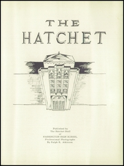 Page 5, 1952 Edition, Washington High School - Hatchet Yearbook (Kansas City, KS) online yearbook collection