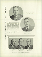Page 8, 1952 Edition, Washington High School - Hatchet Yearbook (Kansas City, KS) online yearbook collection