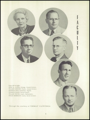 Page 9, 1952 Edition, Washington High School - Hatchet Yearbook (Kansas City, KS) online yearbook collection