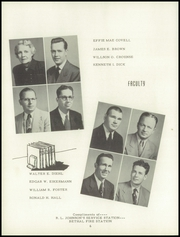 Page 10, 1953 Edition, Washington High School - Hatchet Yearbook (Kansas City, KS) online yearbook collection