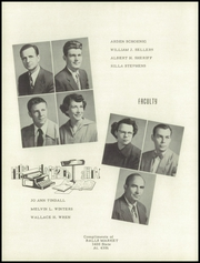 Page 12, 1953 Edition, Washington High School - Hatchet Yearbook (Kansas City, KS) online yearbook collection