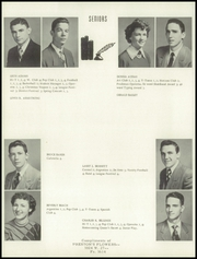 Page 14, 1953 Edition, Washington High School - Hatchet Yearbook (Kansas City, KS) online yearbook collection