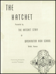 Page 5, 1953 Edition, Washington High School - Hatchet Yearbook (Kansas City, KS) online yearbook collection