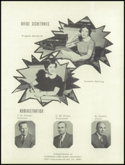 Page 9, 1953 Edition, Washington High School - Hatchet Yearbook (Kansas City, KS) online yearbook collection