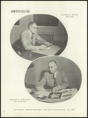 Page 10, 1954 Edition, Washington High School - Hatchet Yearbook (Kansas City, KS) online yearbook collection