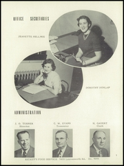 Page 11, 1954 Edition, Washington High School - Hatchet Yearbook (Kansas City, KS) online yearbook collection