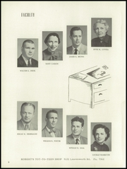 Page 12, 1954 Edition, Washington High School - Hatchet Yearbook (Kansas City, KS) online yearbook collection