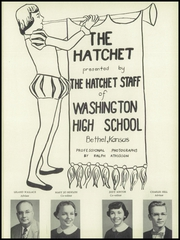 Page 5, 1954 Edition, Washington High School - Hatchet Yearbook (Kansas City, KS) online yearbook collection