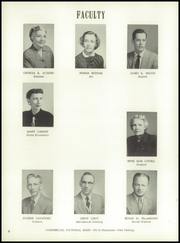 Page 12, 1955 Edition, Washington High School - Hatchet Yearbook (Kansas City, KS) online yearbook collection