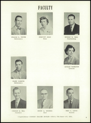 Page 13, 1955 Edition, Washington High School - Hatchet Yearbook (Kansas City, KS) online yearbook collection