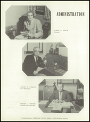 Page 10, 1956 Edition, Washington High School - Hatchet Yearbook (Kansas City, KS) online yearbook collection