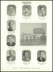 Page 12, 1956 Edition, Washington High School - Hatchet Yearbook (Kansas City, KS) online yearbook collection
