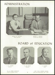 Page 12, 1957 Edition, Washington High School - Hatchet Yearbook (Kansas City, KS) online yearbook collection