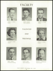 Page 14, 1957 Edition, Washington High School - Hatchet Yearbook (Kansas City, KS) online yearbook collection