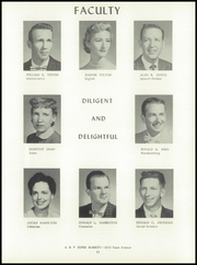 Page 15, 1957 Edition, Washington High School - Hatchet Yearbook (Kansas City, KS) online yearbook collection