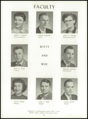 Page 16, 1957 Edition, Washington High School - Hatchet Yearbook (Kansas City, KS) online yearbook collection