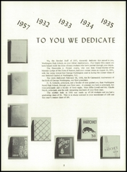 Page 6, 1957 Edition, Washington High School - Hatchet Yearbook (Kansas City, KS) online yearbook collection