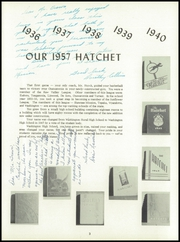 Page 7, 1957 Edition, Washington High School - Hatchet Yearbook (Kansas City, KS) online yearbook collection