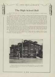Page 11, 1921 Edition, Lawrence High School - Red and Black Yearbook (Lawrence, KS) online yearbook collection