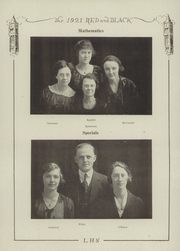Page 16, 1921 Edition, Lawrence High School - Red and Black Yearbook (Lawrence, KS) online yearbook collection