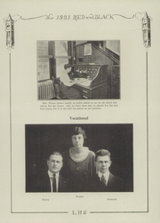 Page 17, 1921 Edition, Lawrence High School - Red and Black Yearbook (Lawrence, KS) online yearbook collection