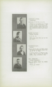 Page 16, 1919 Edition, Junction City High School - Pow Wow Yearbook (Junction City, KS) online yearbook collection