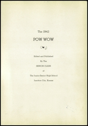 Page 3, 1942 Edition, Junction City High School - Pow Wow Yearbook (Junction City, KS) online yearbook collection