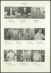 Page 13, 1950 Edition, Junction City High School - Pow Wow Yearbook (Junction City, KS) online yearbook collection