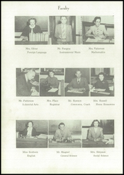 Page 14, 1950 Edition, Junction City High School - Pow Wow Yearbook (Junction City, KS) online yearbook collection