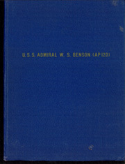 Page 1, 1945 Edition, Admiral W S Benson (AP 120) - Naval Cruise Book online yearbook collection