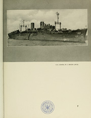 Page 11, 1945 Edition, Admiral W S Benson (AP 120) - Naval Cruise Book online yearbook collection