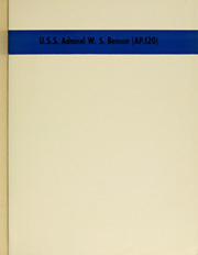 Page 5, 1945 Edition, Admiral W S Benson (AP 120) - Naval Cruise Book online yearbook collection