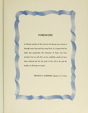 Page 9, 1945 Edition, Admiral W S Benson (AP 120) - Naval Cruise Book online yearbook collection