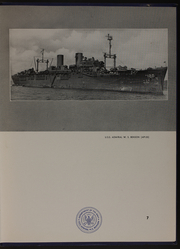 Page 11, 1946 Edition, Admiral W S Benson (AP 120) - Naval Cruise Book online yearbook collection