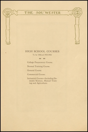 Page 11, 1915 Edition, Dodge High School - Sou Wester Yearbook (Dodge City, KS) online yearbook collection