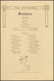 Page 17, 1915 Edition, Dodge High School - Sou Wester Yearbook (Dodge City, KS) online yearbook collection