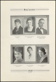 Page 12, 1920 Edition, Dodge High School - Sou Wester Yearbook (Dodge City, KS) online yearbook collection