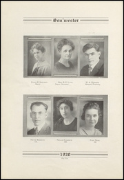 Page 14, 1920 Edition, Dodge High School - Sou Wester Yearbook (Dodge City, KS) online yearbook collection