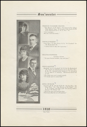 Page 16, 1920 Edition, Dodge High School - Sou Wester Yearbook (Dodge City, KS) online yearbook collection