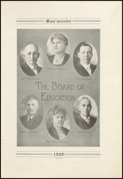 Page 9, 1920 Edition, Dodge High School - Sou Wester Yearbook (Dodge City, KS) online yearbook collection
