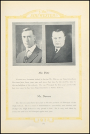 Page 13, 1925 Edition, Dodge High School - Sou Wester Yearbook (Dodge City, KS) online yearbook collection