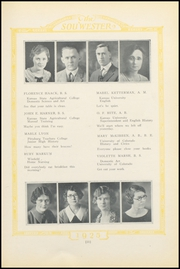 Page 15, 1925 Edition, Dodge High School - Sou Wester Yearbook (Dodge City, KS) online yearbook collection