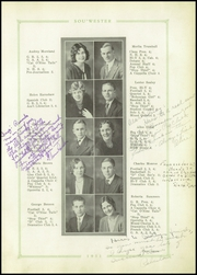 Page 11, 1931 Edition, Dodge High School - Sou Wester Yearbook (Dodge City, KS) online yearbook collection