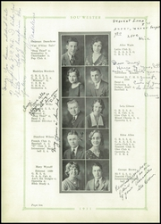 Page 14, 1931 Edition, Dodge High School - Sou Wester Yearbook (Dodge City, KS) online yearbook collection