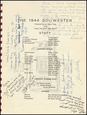Page 5, 1944 Edition, Dodge High School - Sou Wester Yearbook (Dodge City, KS) online yearbook collection